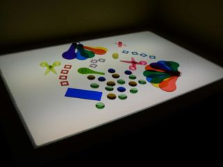 Light Table Ideas for Play